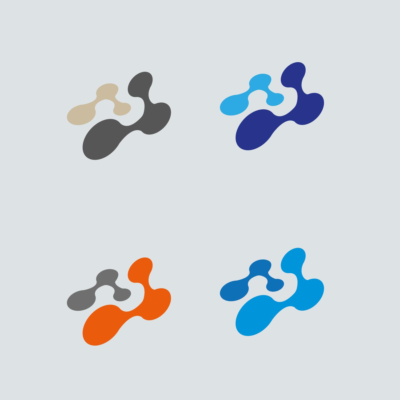Mindlab nodes logo design