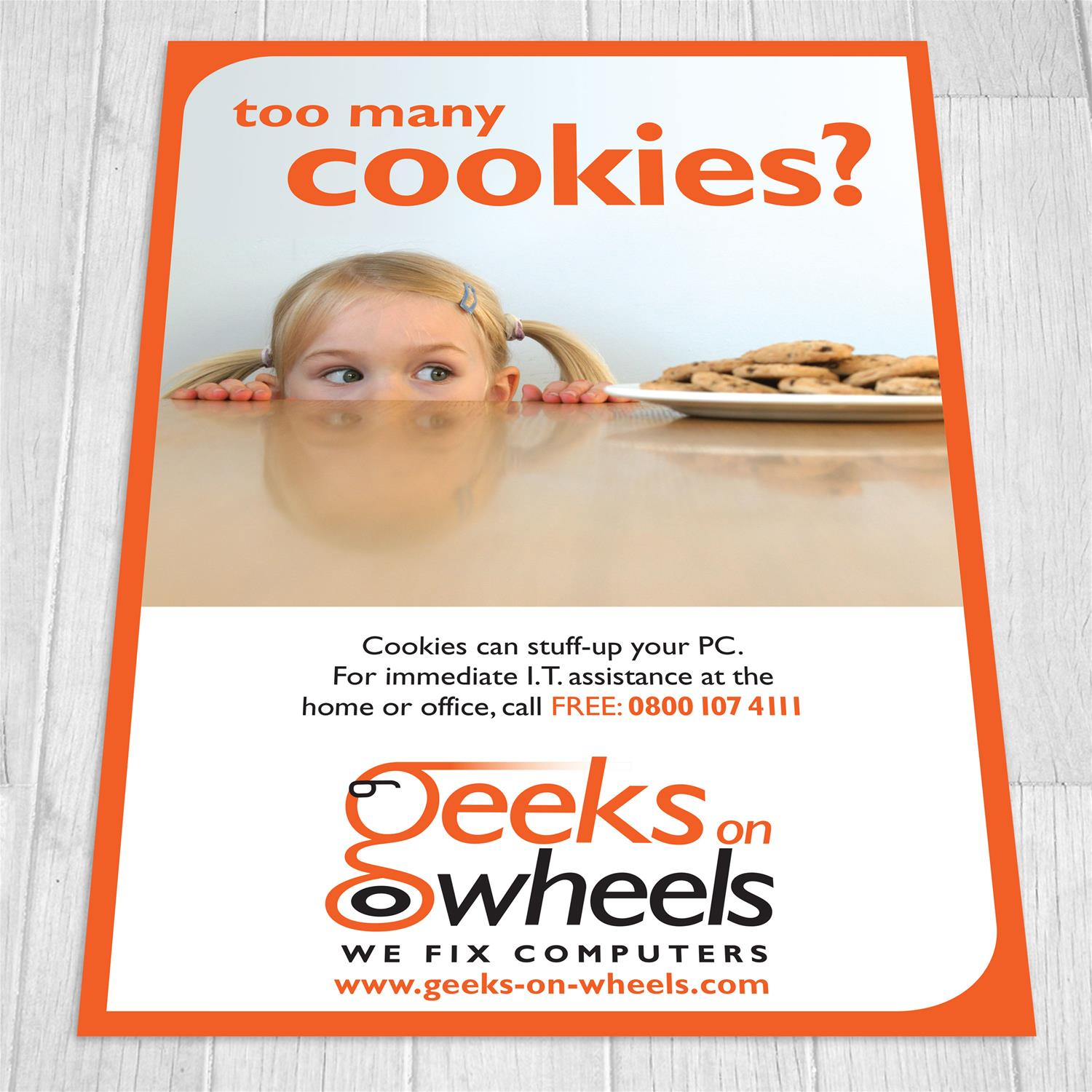 Geeks on Wheels Advert