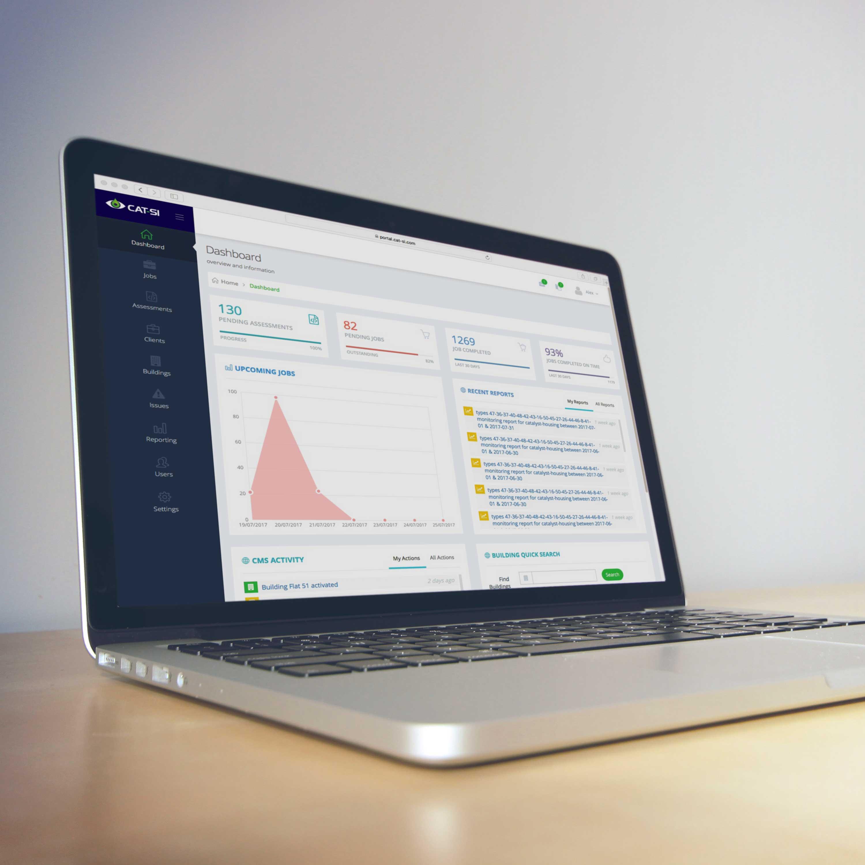 Cat-si web portal development