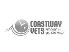 coastway vets logo branding