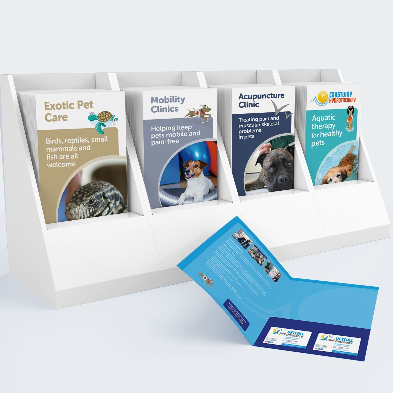 Print Design Coastway Vets Leaflets