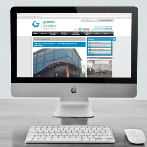 Graves Jenkins website on desktop