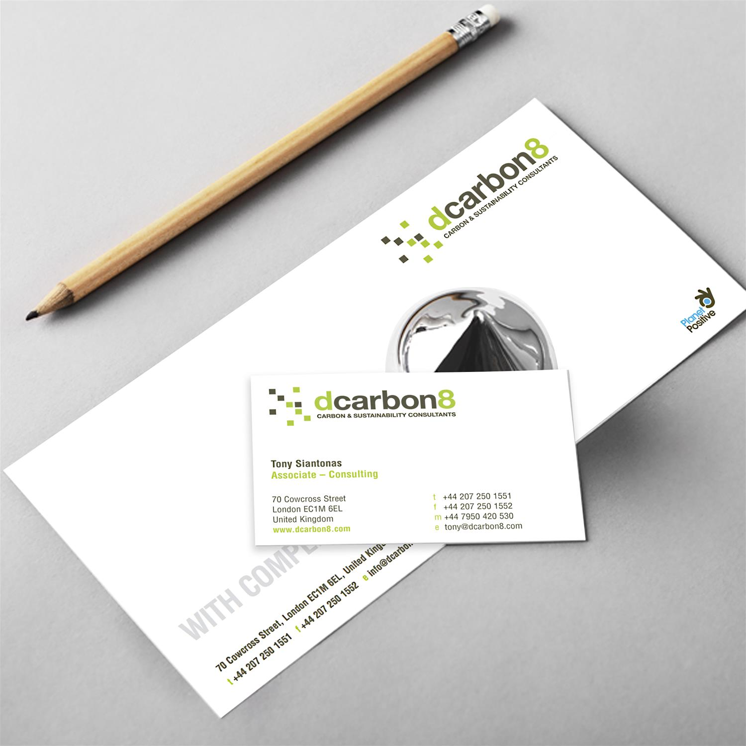 dcarbon8 stationery