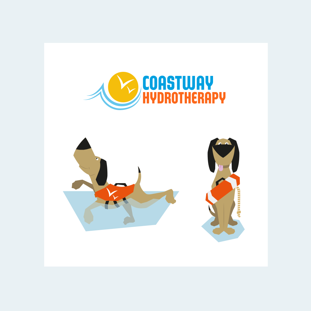 coatstway vets hydrotherapy logos