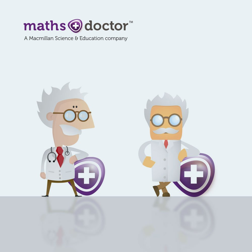 Maths Doctor Illustration